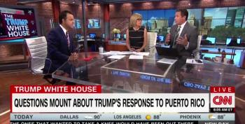 CNN Panel: 'Is Maria Donald Trump's Katrina?'