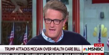 Scarborough To Trump: 'You Have No Humanity' For Attacking John MacCain Struggling For His Life