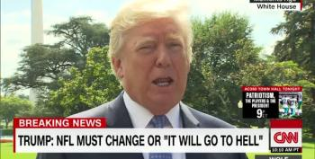 Donald Trump: NFL Must Change Or 'Go To Hell'