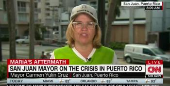 Emotional San Juan Mayor: 'Dammit! This Is Not A Good News Story'