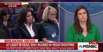 WH Press Secretary Says Trump Needs All The Facts Before Labeling The Attack On Las Vegas