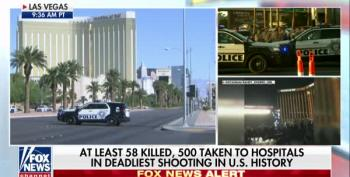 Fox 'News' Wastes No Time Using Las Vegas Shooting To Attack Liberals