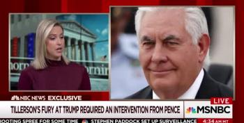 Angry Rex Tillerson Called Trump 'A Moron' After Charlottesville