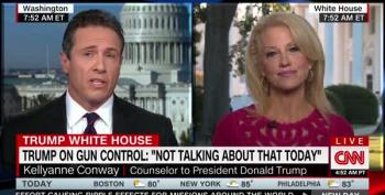 After Las Vegas, Kellyanne Conway Blames Obama, Bernie, Hillary, CNN, And Elizabeth Warren