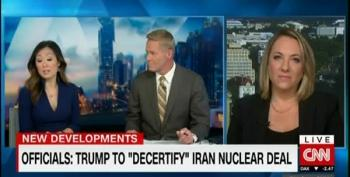 Trump Plans To Blow Up Iran Deal Because He Really IS A Moron