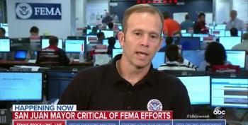 FEMA Administrator Calls San Juan Mayor's Remarks 'Political Noise'