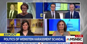 AM Joy Panel Shreds The 'Both Siderist' Nonsense On Harvey Weinstein