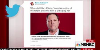 The Weinstein Sexual Harassment Is All About Mika...And Hillary?