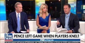 Brian Kilmeade Defends Pence Walkout: Not A Stunt Because Peyton Manning