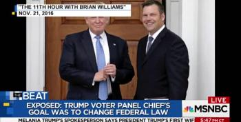 BUSTED: New Documents Show Kobach's Voter Commission Was Created To Suppress Votes