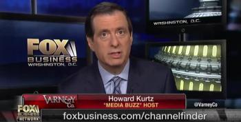 IRONY ALERT: Howie Kurtz Bashes NBC's Editorial Decision To Quash Weinstein Story
