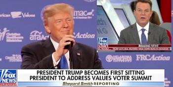 Shep Smith Calls Trump Out For Speech At 'Hate Group' Value Voters Summit