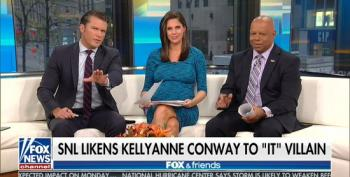 Fox & Friends Gripe About SNL Segment Depicting Kellyanne Conway As Pennywise