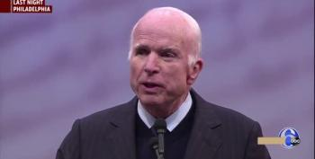 Sen. John McCain Blasts Trump And Bannon Over 'Half Baked, Spurious Nationalism'