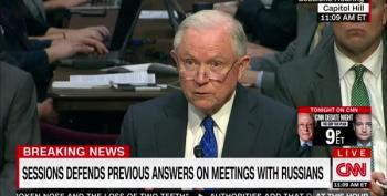 Jeff Sessions Bashful When Asked If He's Talked To Russians, Mueller