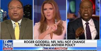Fox News Segment Melts Down Over Jingoistic National Anthem Debate