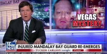 Tucker Carlson Can't Keep His Conspiracy Theories Straight, Vegas Shooter Edition