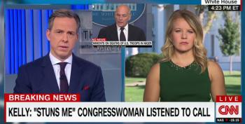 Jake Tapper: Gen. Kelly Confirmed Trump Lied When He Denied Widow's Claims