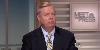 Watch Lindsey Graham Become A Trump Apologist