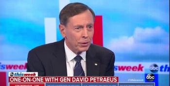 Gen. Petraeus Rebukes White House: 'We, In Uniform, Protect The Rights Of Those To Criticize Us'