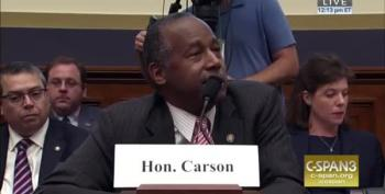 WATCH: Ben Carson Hammered By Rep Al Green On Housing Cuts