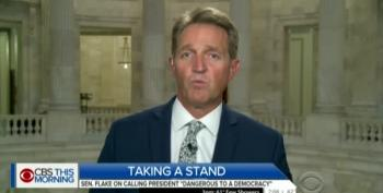 Flake Flakes: Impeachment, 25th Amendment Not 'Justified'