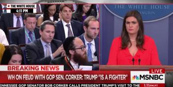 Sarah Huckabee Sanders Defends Kelly's Lies -- Again
