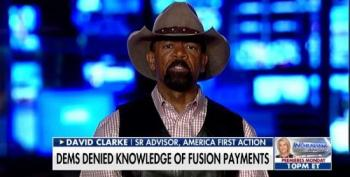 Wingnut 'Sheriff' Clarke Aids And Abets Fox's Attempt To Discredit Mueller Investigation