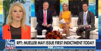 Kellyanne Conway Gets Rattled On Fox And Friends Over Financing Her Own Oppo-Research