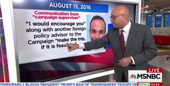 Ali Velshi Lays Out The Complete George Papadopoulis Timeline
