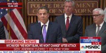 Gov. Cuomo: The President's Tweets Were 'Not Helpful' Or 'Factual'