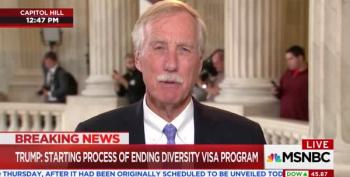Angus King Corrects The Record On Immigration Policy And Lottery System