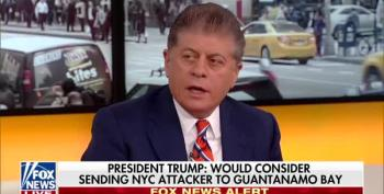Judge Napolitano Strongly Disagrees With Trump On Sending NYC Terror Suspect To Gitmo