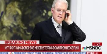 Billionaire Breitbart Funder Robert Mercer Fleeing Politics?
