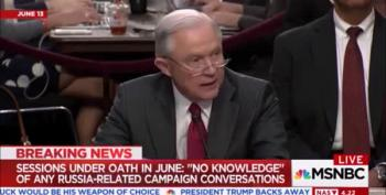 AG Jeff Sessions: 'I Have No Knowledge Of Any Such Conversations By Anyone Connected To The Trump Campaign'