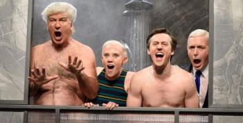 SNL Cold Open: Alec Baldwin's Trump Visits Manafort In The Shower