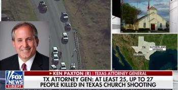 Texas Attorney General Urges Church Goers To Carry More Guns After Mass Shooting