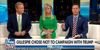 Fox & Friends: Gillespie Lost Because He Didn't Embrace Trump