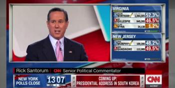 Santorum Blames Trump For Gillespie Loss In Virginia