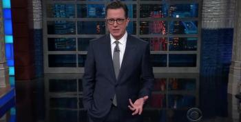 Colbert: Accusations Against Moore So Damning, Voters Will Either Force Him Off Ballot, Or Make Him President