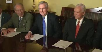 Pick Your Perv In This Lineup Of Republicans Giggling At Questions About Roy Moore