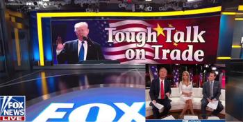 Fox And Friends Flogs Trump's 'Tough Talk' On Trade, Ignores Roy Moore