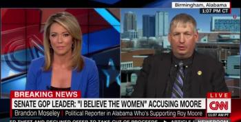 CNN Baffled By Brandon Moseley's Defense Of Roy Moore: Obama Did 'Cocaine'