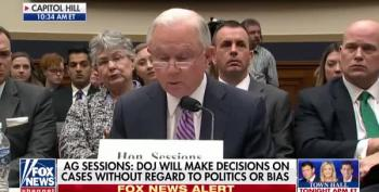 Sessions Changes Tune Again: Met With Papadopoulos? Sure!