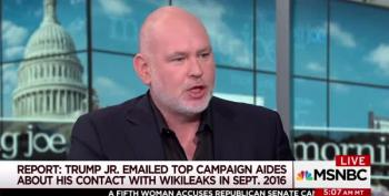 Steve Schmidt: Donald Trump Jr. Is Not A Loyal America For Contacts With Wikileaks