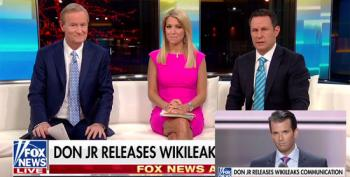 Fox And Friends Upset Somebody 'Blabbed' About Trump Jr's Wikileaks DMs
