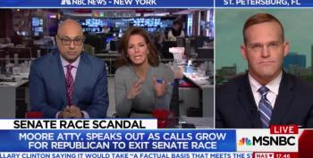 Roy Moore's Lawyer Insinuates Ali Velshi's 'Background' Allows For Dating 14-Year-Olds