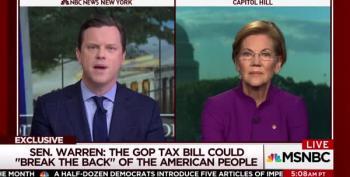 Sen. Warren: Who Do Republicans Work For?