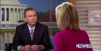 Mick Mulvaney Attacks Andrea Mitchell For 'Having A Certain Political Persuasion' Against Roy Moore
