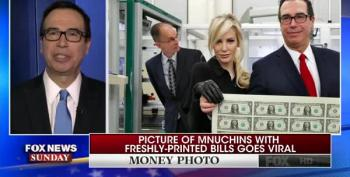 Bond Villain Steve Mnuchin Neck-Deep In Russia